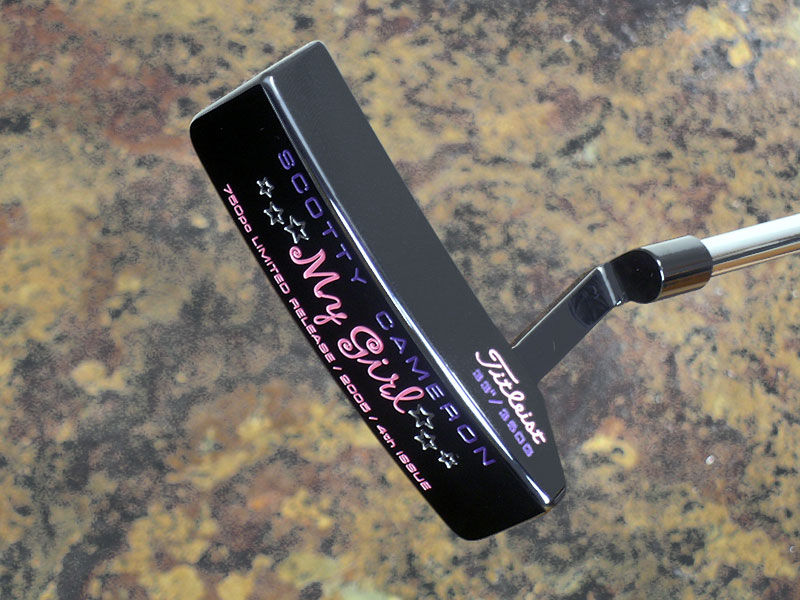 The 2005 Limited Release My Girl™ putter was a customized version of the Circa 62™ No. 3 head style.