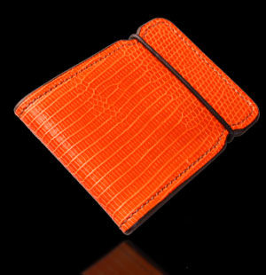 Ring Lizard Cash Cover - Orange