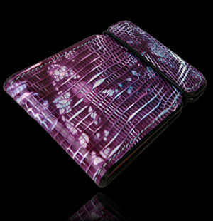 Ring Lizard Cash Cover - Purple Tie-Dye