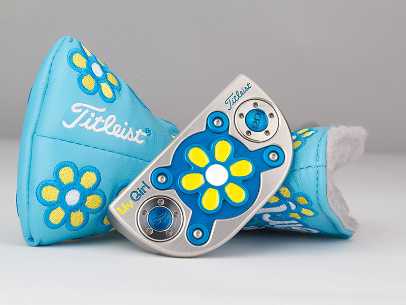 Brighter than ever, Scotty Cameron's latest My Girl is an ageless beauty with a bold new look and Fastback shape for her 12th appearance.
