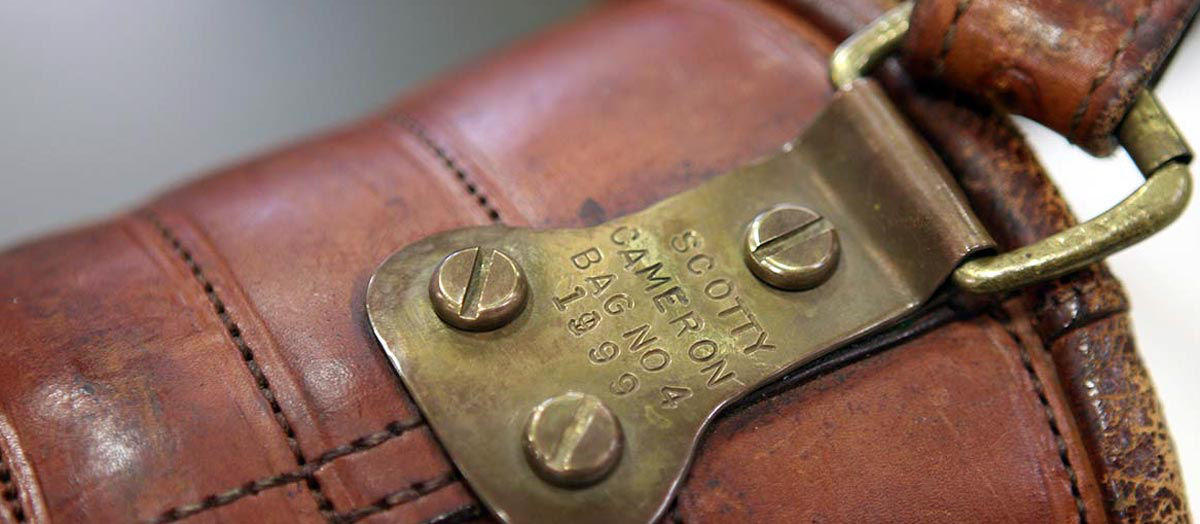 Scotty's personal leather bag.