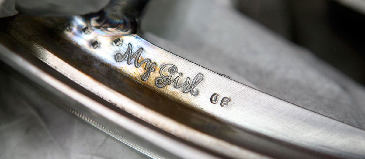 My Girl putter with a welded neck.