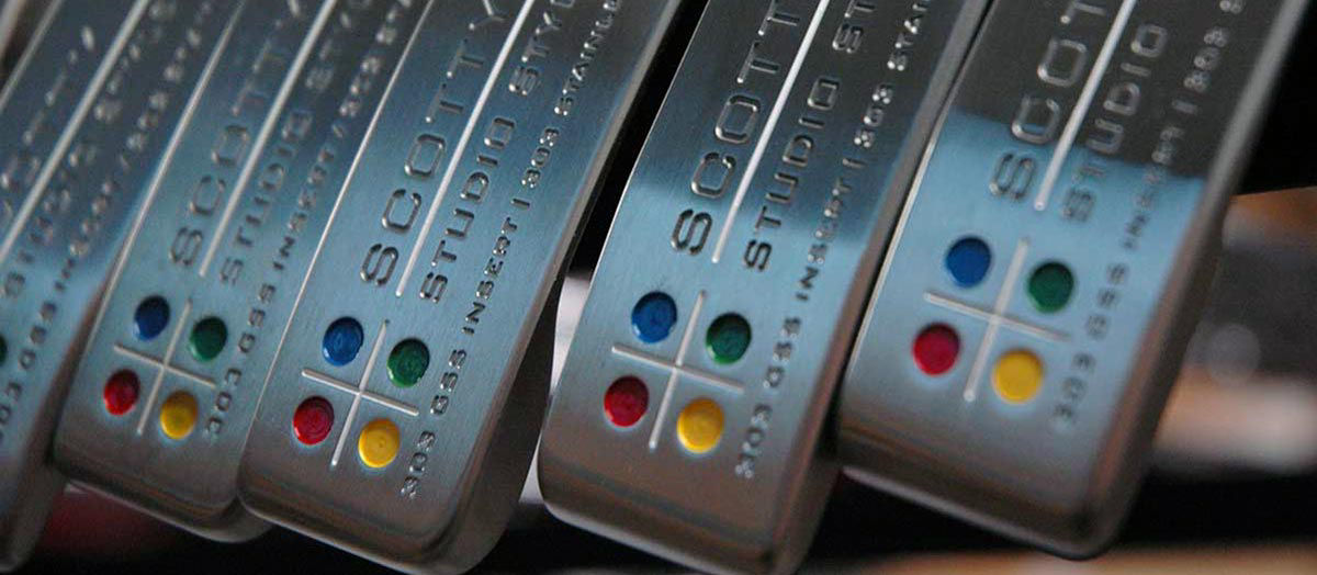 Scotty Cameron Studio Style 303 with a 303 GSS insert and 303 Stainless Steel Body
