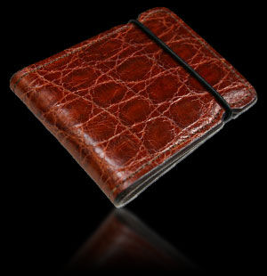Alligator Cash Cover - Cordovan