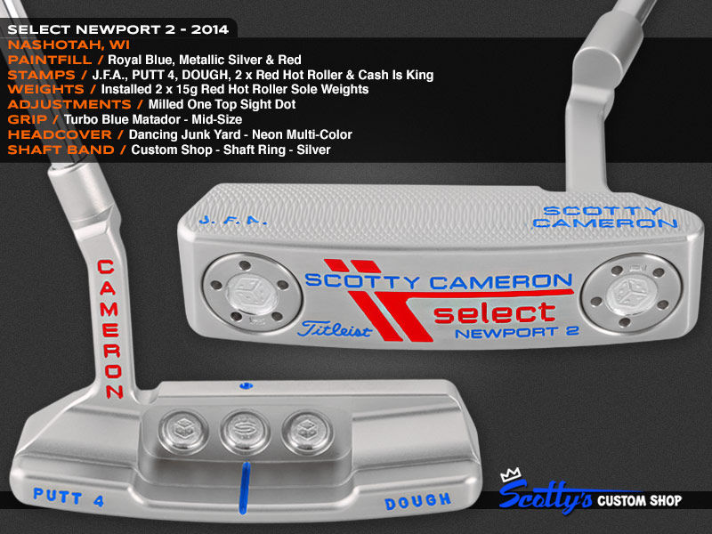 Custom Shop Putter of the Day: January 6, 2016