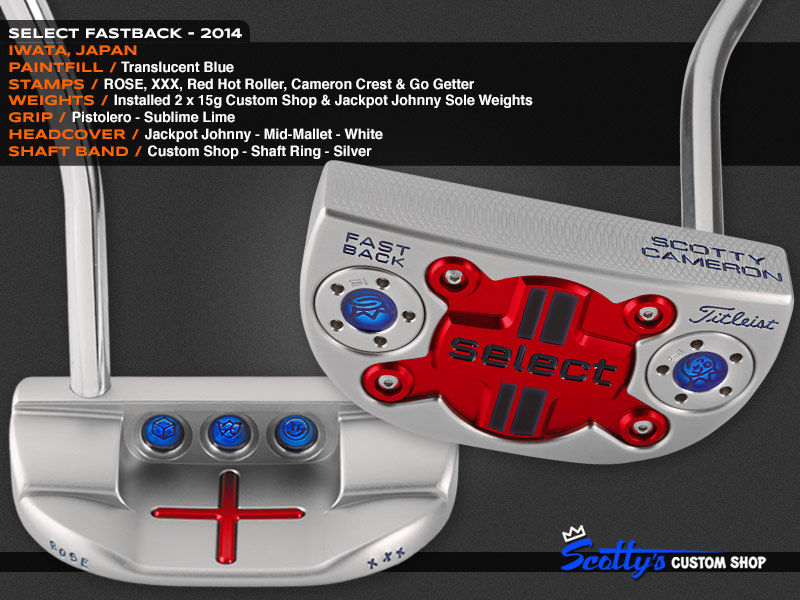 Custom Shop Putter of the Day: January 7, 2016