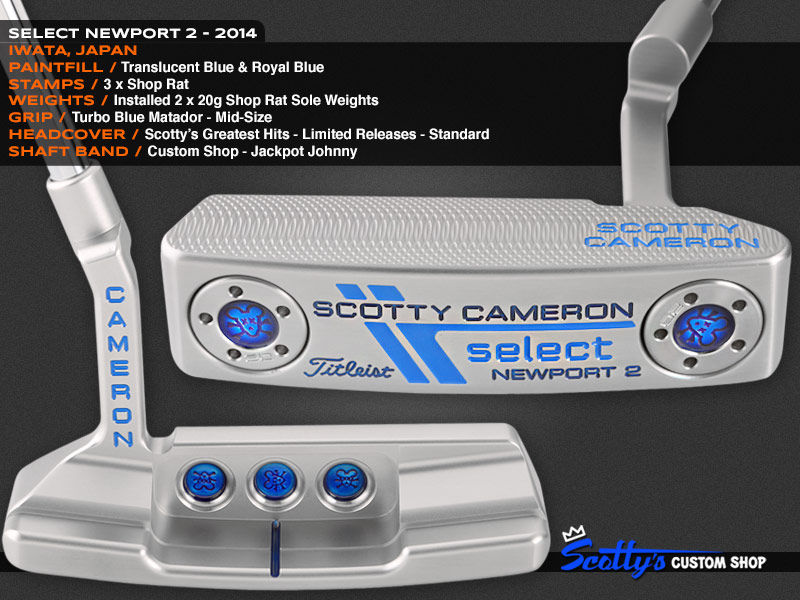 Custom Shop Putter of the Day: January 8, 2016