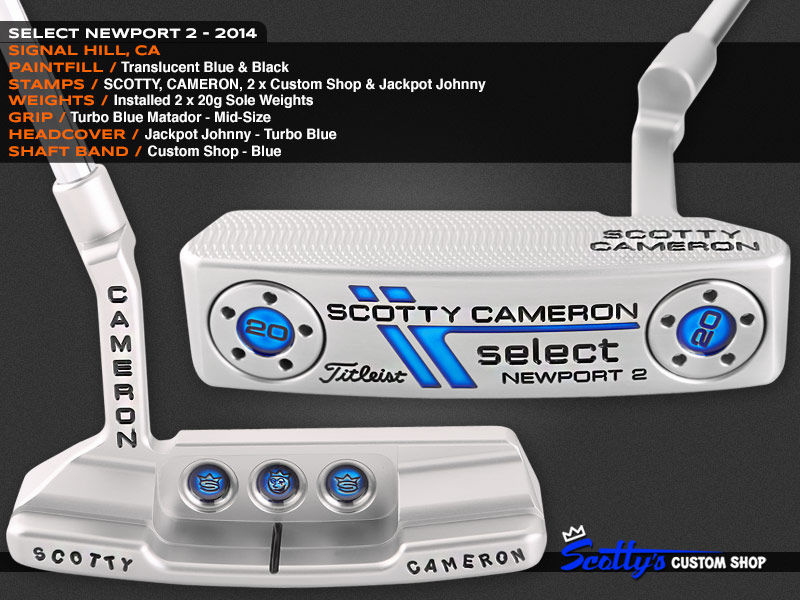 Custom Shop Putter of the Day: January 25, 2016