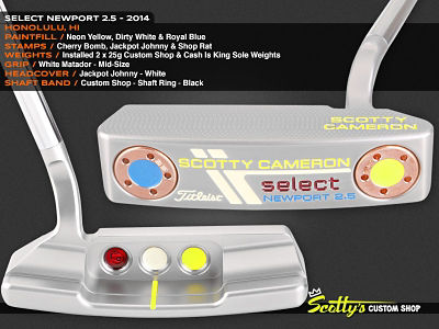 Custom Shop Putter of the Day: January 29, 2016