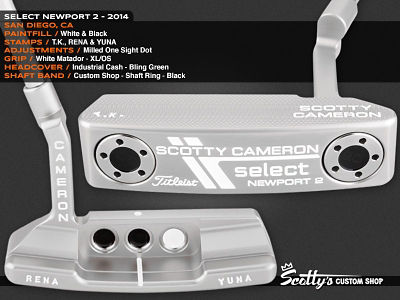 Custom Shop Putter of the Day: February 11, 2016
