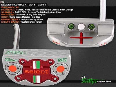 Custom Shop Putter of the Day: February 12, 2016
