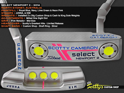 Custom Shop Putter of the Day: March 21, 2016