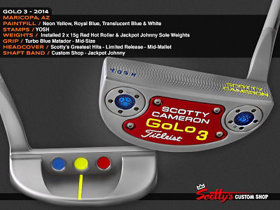 Custom Shop Putter of the Day: March 28, 2016