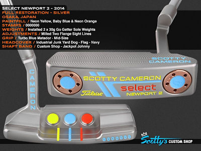 Custom Shop Putter of the Day: April 14, 2016