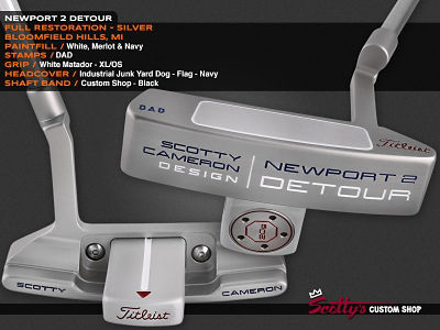 Custom Shop Putter of the Day: April 15, 2016