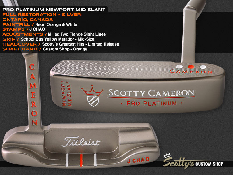 Custom Shop Putter of the Day: April 22, 2016