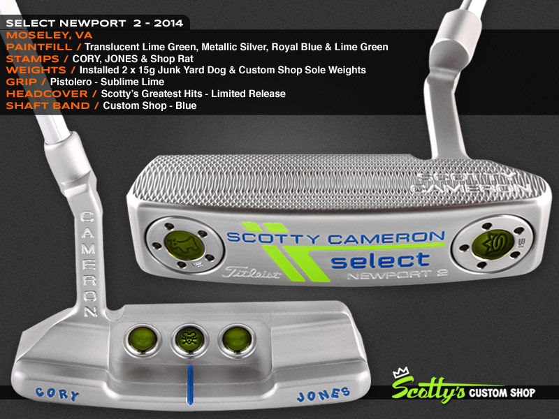 Custom Shop Putter of the Day: April 27, 2016