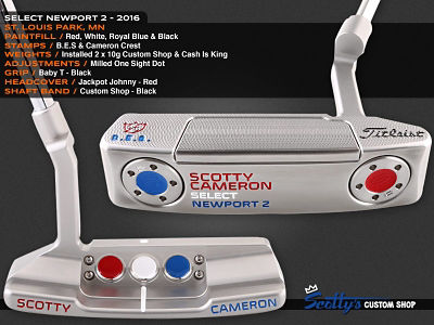 Custom Shop Putter of the Day: April 28, 2016