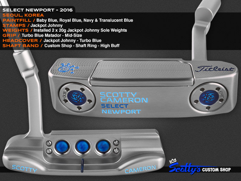 Custom Shop Putter of the Day: May 10, 2016