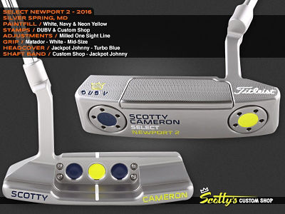 Custom Shop Putter of the Day: May 11, 2016