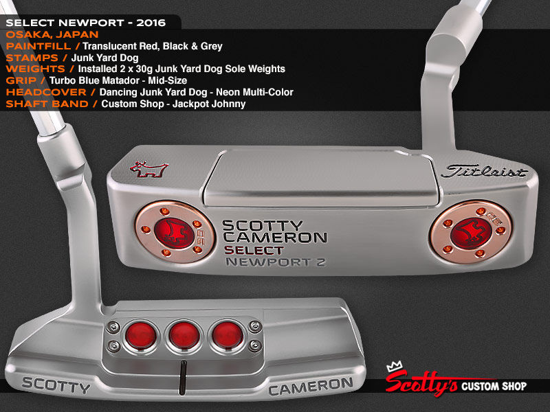 Custom Shop Putter of the Day: May 24, 2016