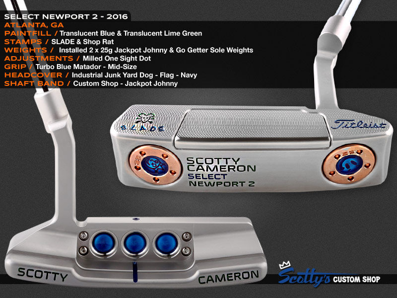 Custom Shop Putter of the Day: May 25, 2016