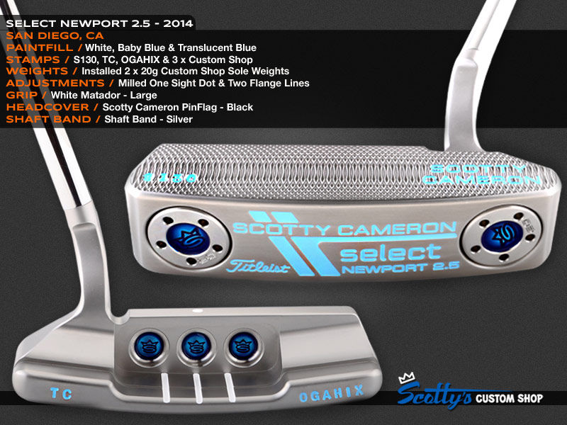 Custom Shop Putter of the Day: May 26, 2016
