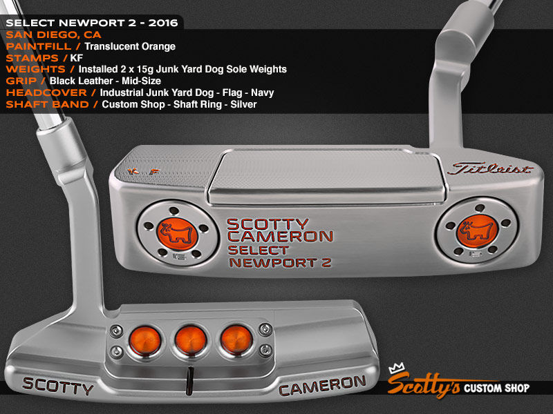 Custom Shop Putter of the Day: June 10, 2016