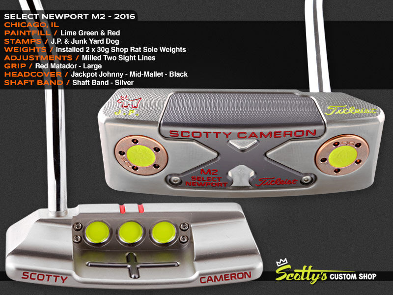 Custom Shop Putter of the Day: June 15, 2016