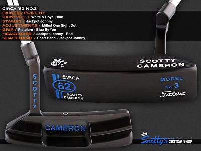 Custom Shop Putter of the Day: June 23, 2016