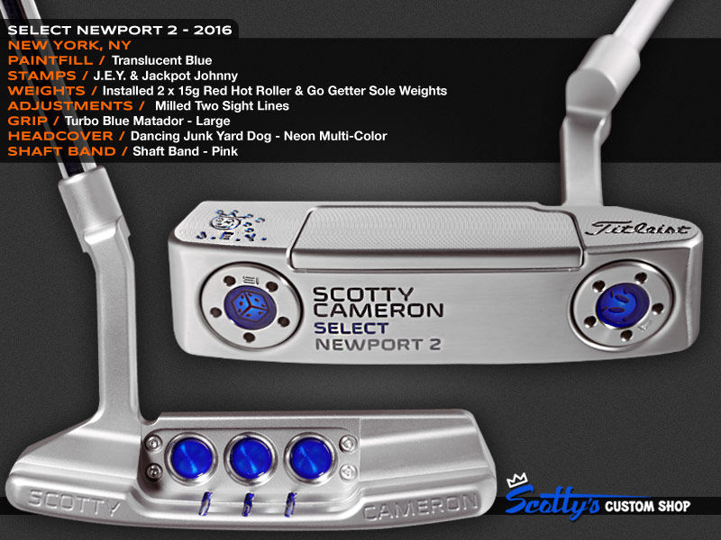 Custom Shop Putter of the Day: June 30, 2016