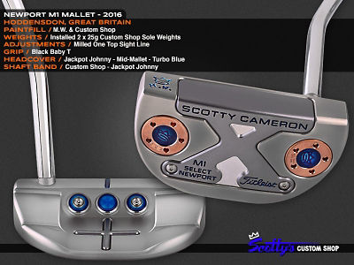 Custom Shop Putter of the Day: June 7, 2016