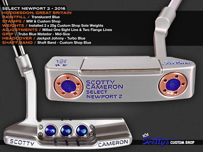 Custom Shop Putter of the Day: July 7, 2016