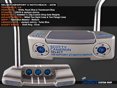 Custom Shop Putter of the Day: July 13, 2016