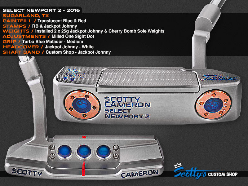 Custom Shop Putter of the Day: July 18, 2016