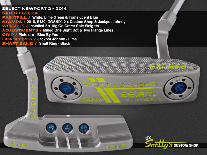 Custom Shop Putter of the Day: July 21, 2016