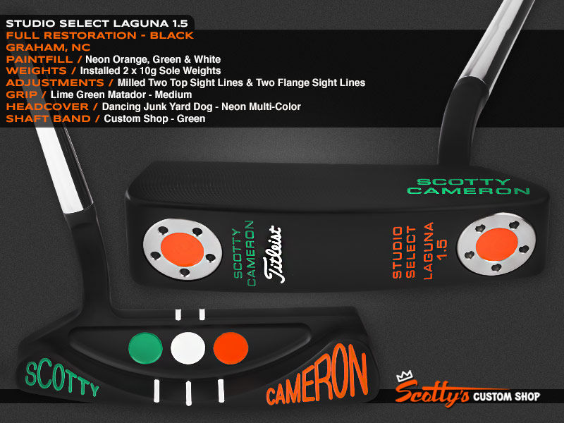 Custom Shop Putter of the Day: July 22, 2016