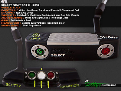 Custom Shop Putter of the Day: July 25, 2016