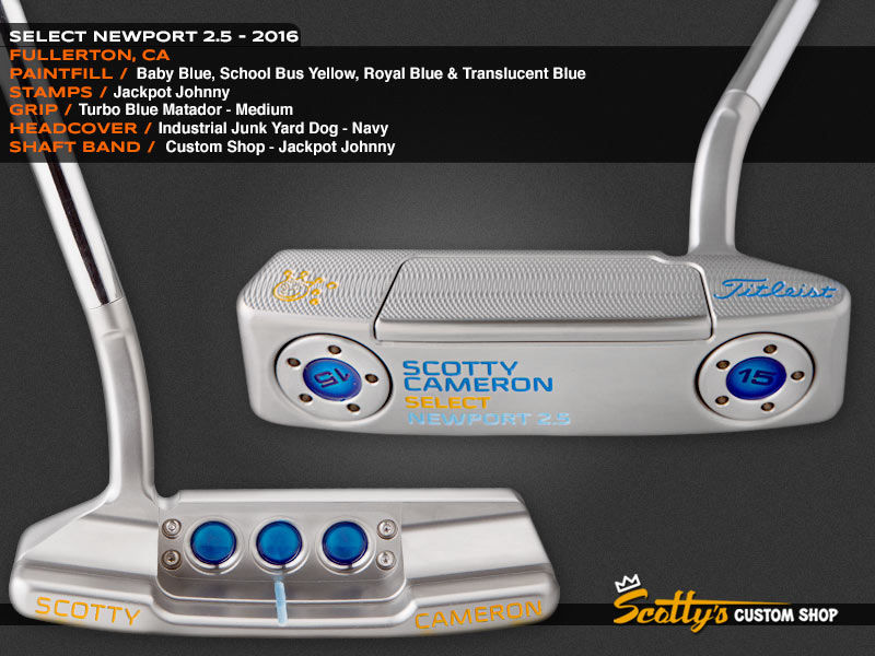 Custom Shop Putter of the Day: August 2, 2016