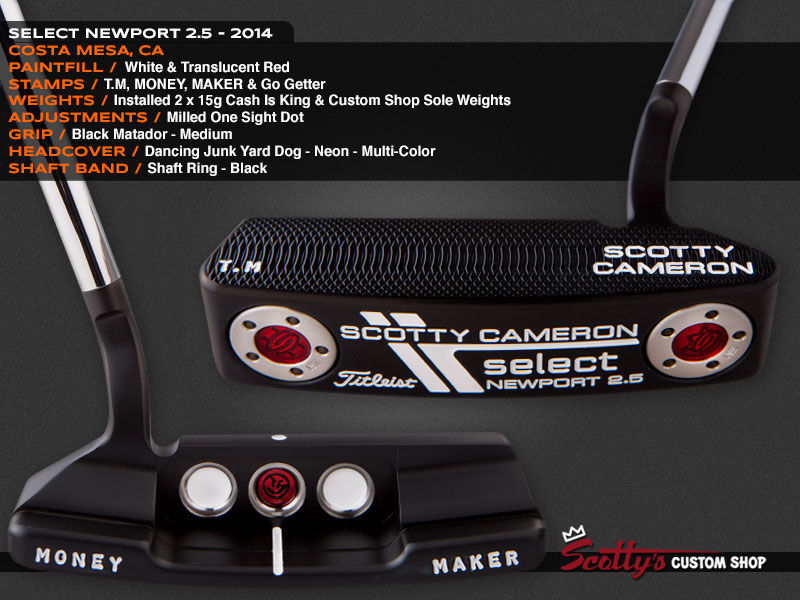 Custom Shop Putter of the Day: August 4, 2016