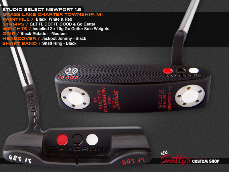 Custom Shop Putter of the Day: August 10, 2016
