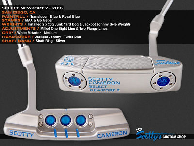 Custom Shop Putter of the Day: August 11, 2016
