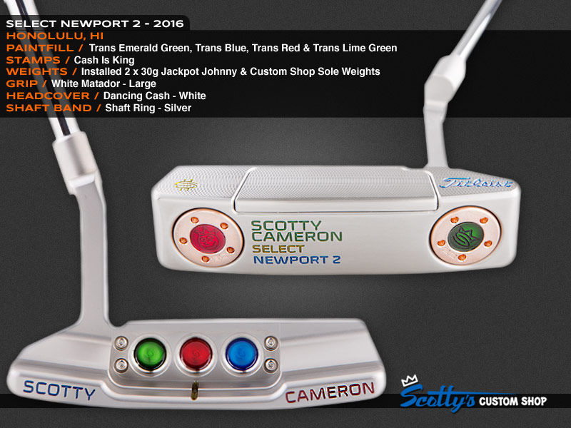 Custom Shop Putter of the Day: August 18, 2016