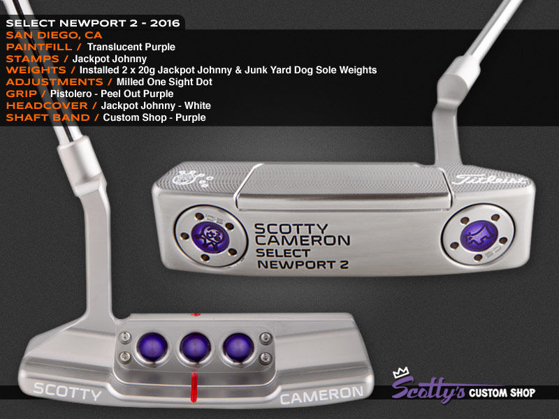 Custom Shop Putter of the Day: August 22, 2016