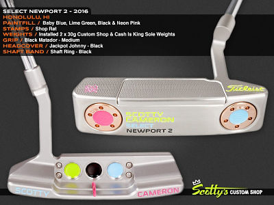 Custom Shop Putter of the Day: August 23, 2016