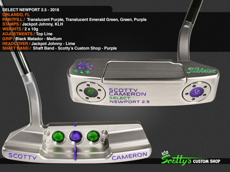 Custom Shop Putter of the Day: October 26. 2016