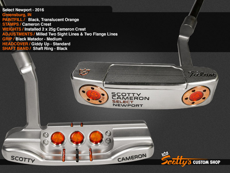Custom Shop Putter of the Day: October 31, 2016
