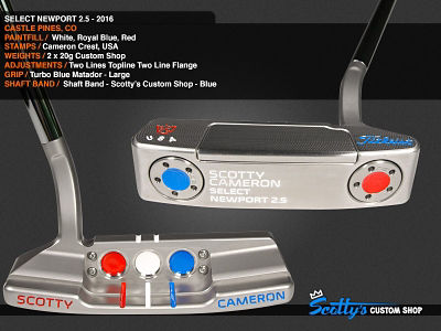 Custom Shop Putter of the Day: November 7, 2016