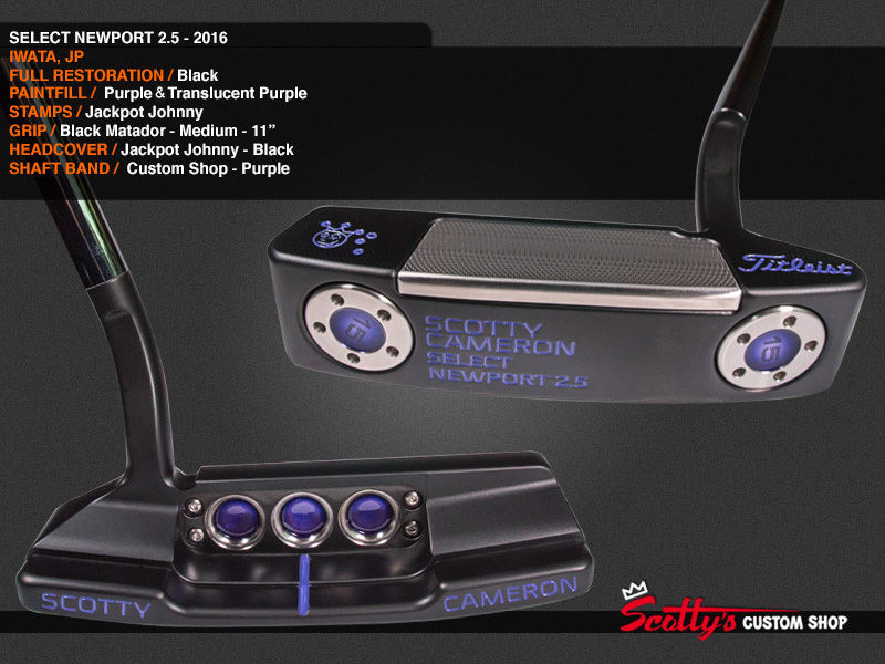 Custom Shop Putter of the Day: November 28, 2016