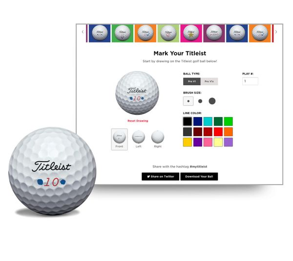 Mark your Titleist